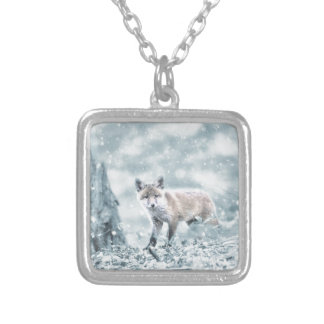 fuchs silver plated necklace