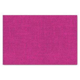 Fuchsia Burlap Texture Tissue Paper