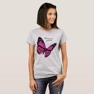 Fuchsia Butterfly T-shirt