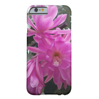 """""""Fuchsia Cactus Bloom Flower"""" Barely There iPhone 6 Case"""