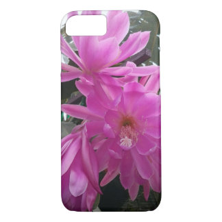 """Fuchsia Cactus Bloom Flower"" iPhone 7 Case"