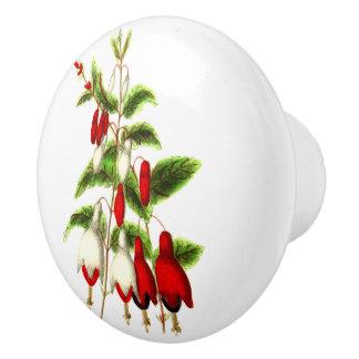 Fuchsia Ceramic Knob