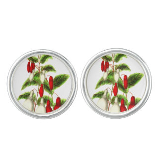 Fuchsia Cufflinks