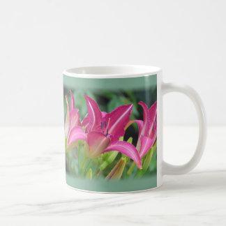 Fuchsia Dreams - Daylilies Coffee Mug