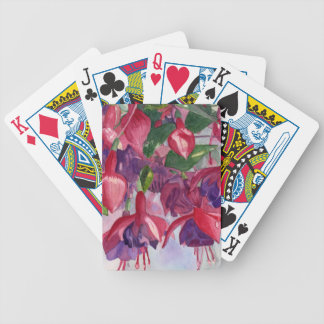 Fuchsia Frenzy Bicycle Playing Cards
