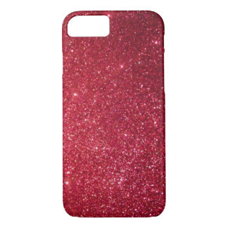 FUCHSIA GLITTER iPhone 7 CASE