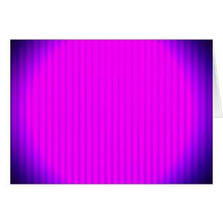 Fuchsia LED lamp Card