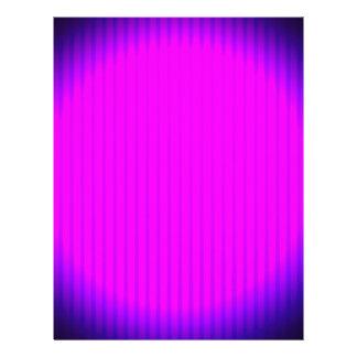 Fuchsia LED lamp Letterhead