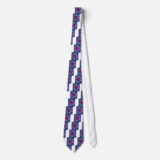 Fuchsia Orchid Bler-Grey Celestial Orchids Tie