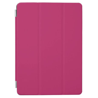 Fuchsia Pink Trend Color Background Blank Template iPad Air Cover