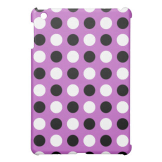 Fuchsia Polka Dots iPad Mini Case