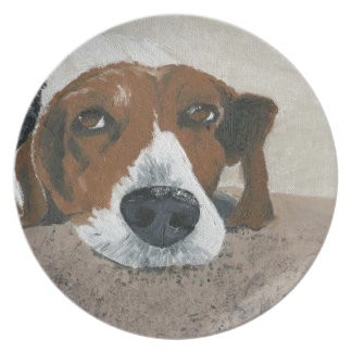 Fudge the Beagle Party Plates