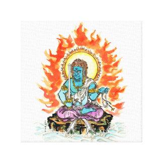 Fudo Myo-O/firm discernment throne image Canvas Print