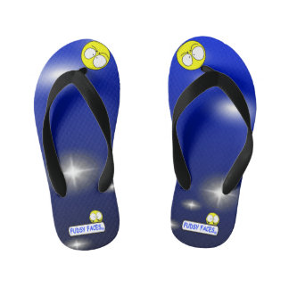 """Fudsy Faces""-Vertigo-Flip Flops for Kid's Kid's Flip Flops"