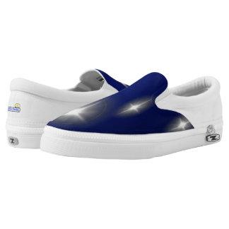 """""""Fudsy Faces"""",Vertigo-Zipz Slip On Shoes"""