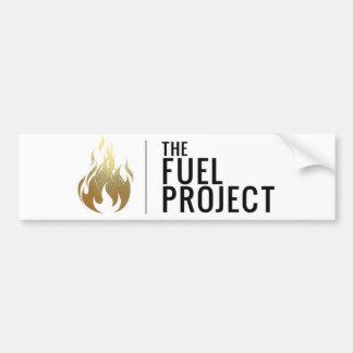 Fuel Bumper Sticker (Gold)