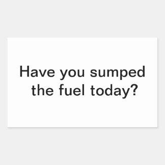 Fuel Sticker