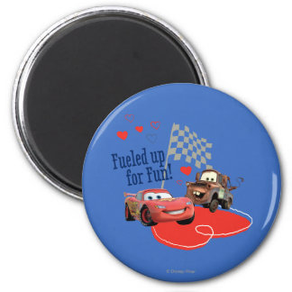 Fueled up for Fun! 2 Inch Round Magnet