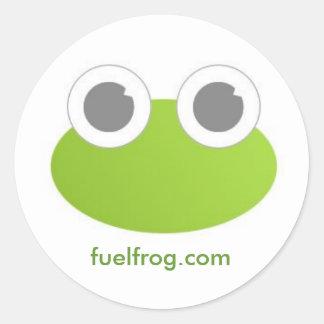 FuelFrog Round Sticker