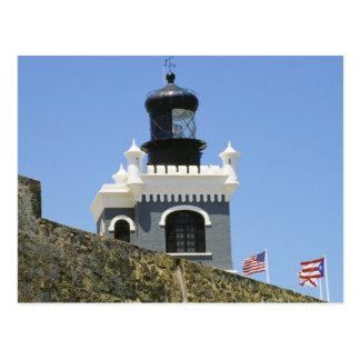 Fuerte San Felipe del Morro's grey castellated Postcard