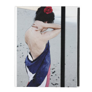Fuerza - full image iPad folio case