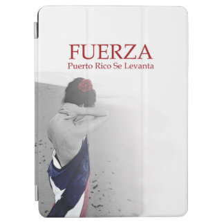Fuerza - image with text iPad air cover