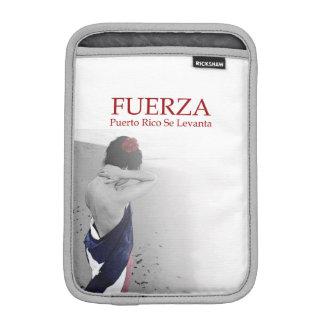 Fuerza - image with text iPad mini sleeve