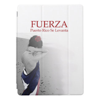 Fuerza - image with text iPad pro cover