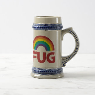 FUG Rainbow Basic Beer Stein