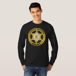 FUGITIVE RECOVERY AGENT Cotton Long Sleve T-Shirt