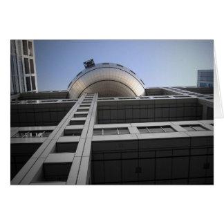 Fuji Building Japan Card