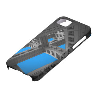 Fuji Building whole ways iPhone 5 Cover