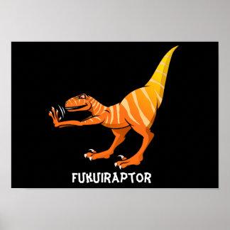 Fukuiraptor Poster