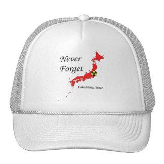 Fukushima, Japan Nuclear Disaster Trucker Hat