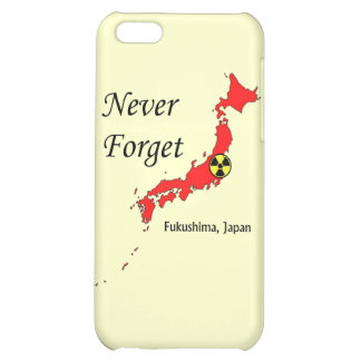 Fukushima, Japan Nuclear Disaster iPhone 5C Case