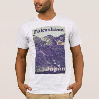 Fukushima, Japanese vintage travel poster T-Shirt
