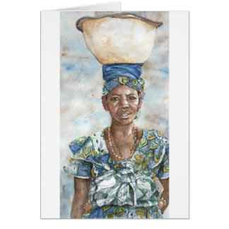 Fulani Milk Seller Card