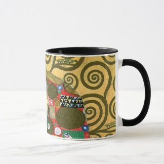 Fulfillment aka The Embrace by Gustav Klimt Mug