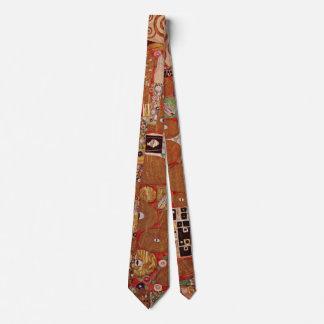 Fulfillment by Gustav Klimt, Vintage Art Nouveau Tie
