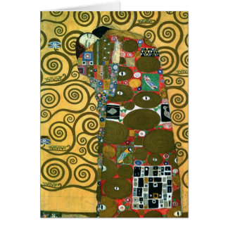 Fulfillment (The Embrace) by Klimt, Thank You Card
