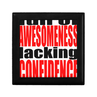 full awesomeness lacking confidence red motivation gift box