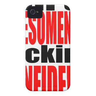 full awesomeness lacking confidence red motivation iPhone 4 cover