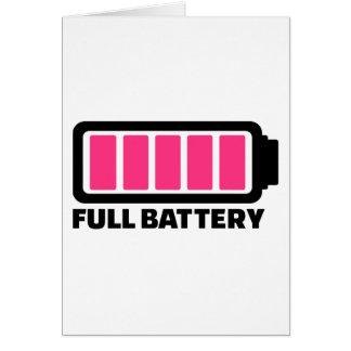 Full battery card