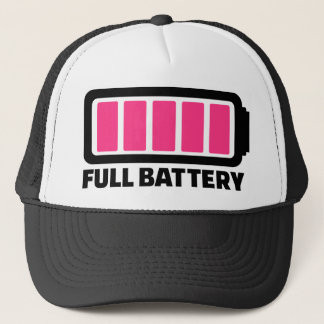 Full battery trucker hat