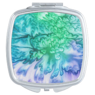 'Full Bloom' Compact Mirror