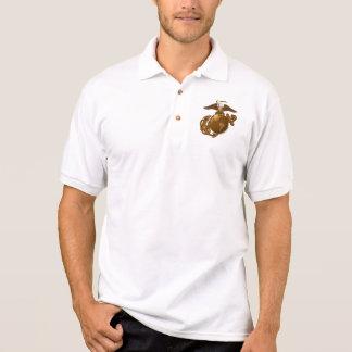 Full-Color EGA - Bronze Polo Shirt