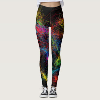 Full color lined leggings