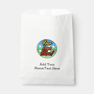 Full-Color Logo Promotional Corporate Printed Favour Bag
