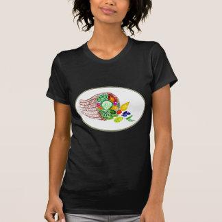 Full Cornucopia Watercolor 2 T-Shirt