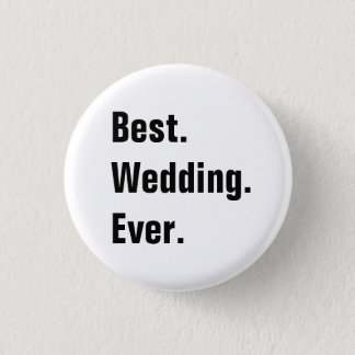 Full Customizable Wedding Buttons